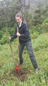 Cath treeplanting