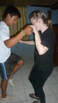 Luis salsa lessons